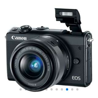 Canon EOS M100 Kit 15-45mm Mirrorless Kredit Mudah