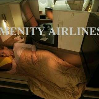 SELIMUT CABIN BUSSINES CLASS ETIHAD AIRWAYS