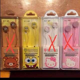 Sponge Bob ear piece