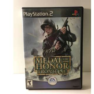 Sony PlayStation 2 - Medal of Honor: Frontline