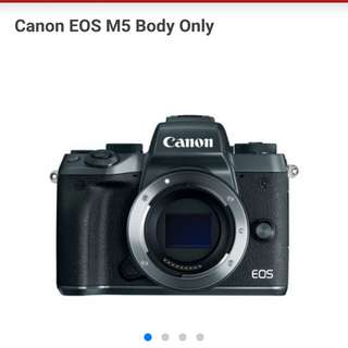 Canon EOS M5 Body Only Resmi Cash-Kredit