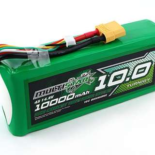 Multistar 10000mah 4s lipo battery