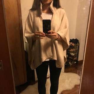 Burberry cashmere cape
