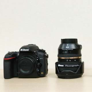 Nikon D750 + Tamron 24-70mm 機身 鏡頭 背帶 電池 充電器
