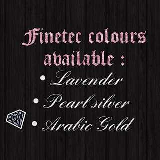 Finetec Colours Available