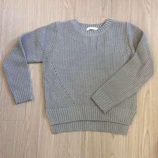 🚚 日貨 lowrys farm 灰色針織毛衣