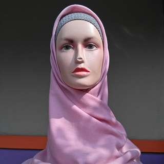 Umama Hijab Rawis Pink
