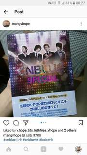 CNBLUE 日版 Japan edition DVD set