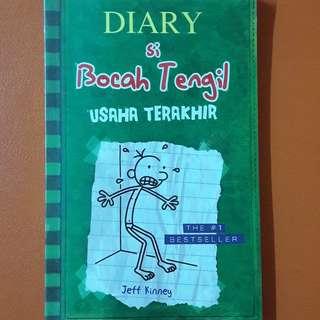 Jeff Kinney: Diary Si Bocah Tengil (Usaha Terakhir)