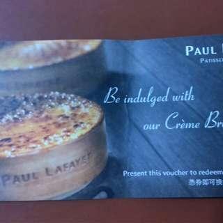 Paul Lafayet 法式焦糖燉蛋禮券