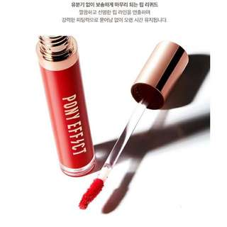 PONY EFFECT Stay Fit Matte Lip Color