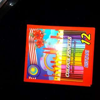 Pensil warna 12 colors