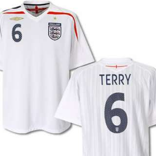 England 07-09 Home Jersey/Kit (Pre-Owned)
