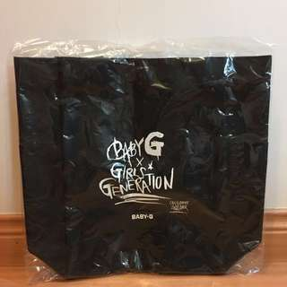 Baby G x Girl Generation Limited Edition bag