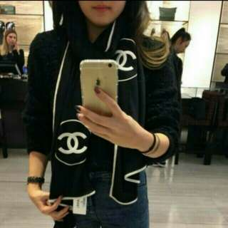Chanel Vip贈品限定💖圍巾😙