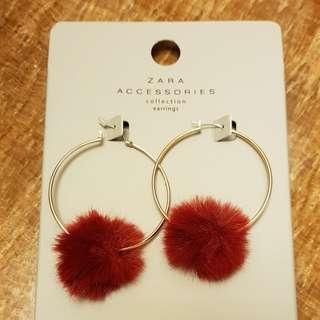 Brand New Zara Loop Earrings