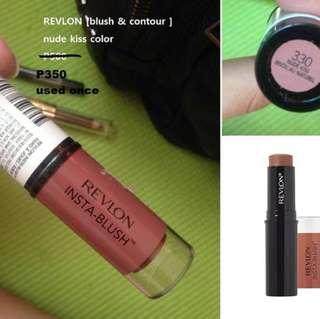 Revlon blush&contour