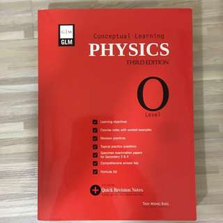 GLM Conceptual Learning Physics O Level (BRAND NEW)