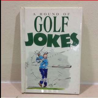 A Round Of Golf Jokes Book From UK (Brand New)