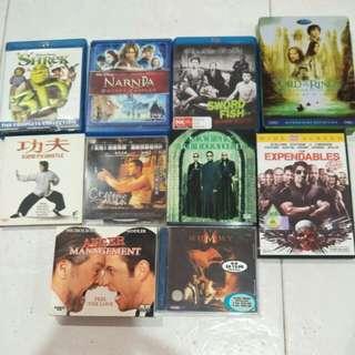 Bluray & DVD