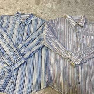 Levi's shirts bundle set (boy)