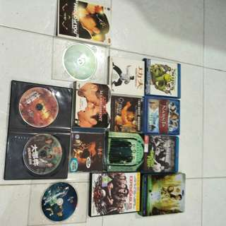 Bluray and dvd