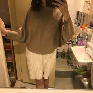 Zara Knit Top + Europe Knit dress $150