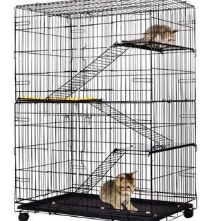 Jumbo 3 Tiers Cat Cage / Cheapest Cage / Brand New Cage / Pet Cage/ Bird Cage / Rabbit Cage