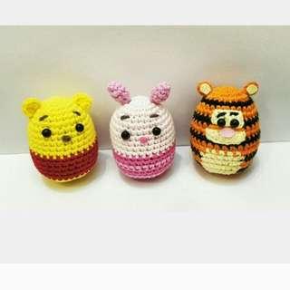 Crochet Winnie The Pooh Set