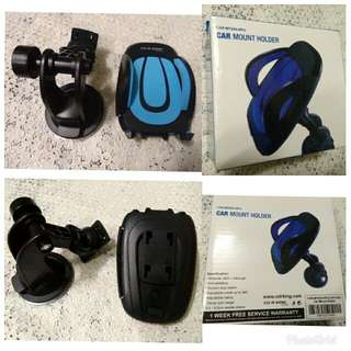 SALE NEW cd r king blue car mount cp holder