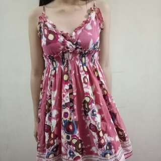 REPRICED Abstract dress