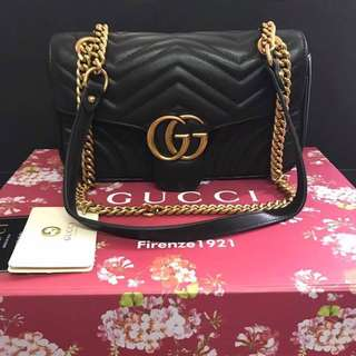 GUCCI Gold chain sling (Two way)