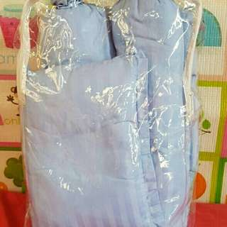 Baby Bed Set (Light Blue)