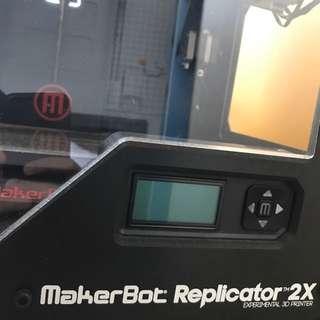 Nonfunctional Makerbot Replicator 2X 3D Printer