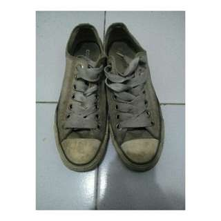 sepatu converse light grey original