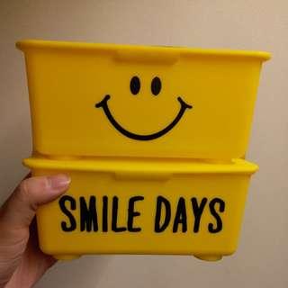 Smile Day storage box 2pcs