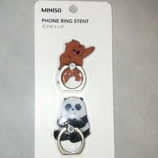 We Bare Bears 手機指環支架