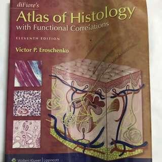 DiFiore's Atlas of Histology 11e