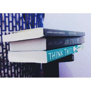 Young Adults Book (Love Letters to the Dead, Think Twice, Speak)