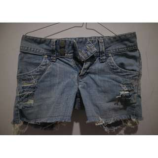 Rip Short Pants