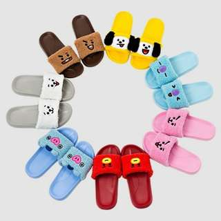 OFFICIAL BT21 SLIPPERS