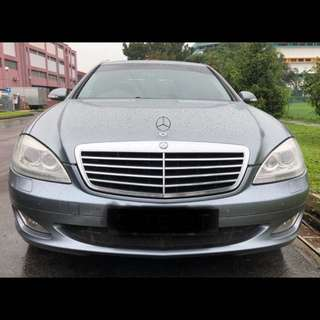 Mercedes w221   S Class facelift front Led xenon head lamp and rear led tail lights for sale
