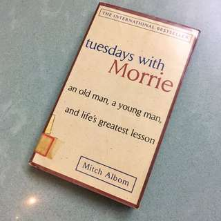 「Tuesdays with Morrie」Mitch Albom