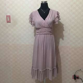 Petit monde pink dainty dress