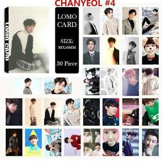EXO CHANYEOL LOMOCARD PHOTOCARD SET
