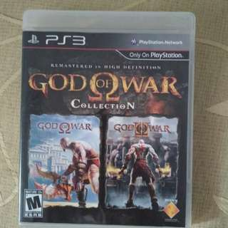 God of War collection PS3 ori