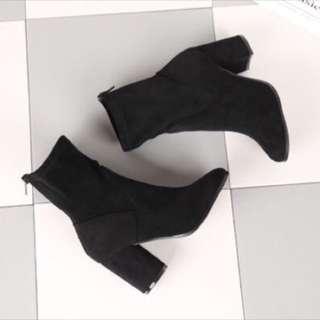 歐美大牌同款襪套靴