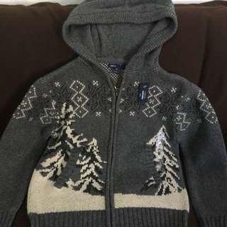Gap Jumper 小童灰色毛衣