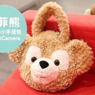 日本達菲熊手提包(小)9.9成新✨