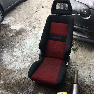 Recaro fisnet driver side only